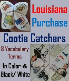 for students to have fun while learning about the Louisiana Purchase ...
