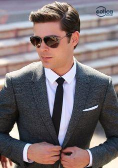 dba5d2c2e Zac Efron usa óculos de sol Ray-Ban Aviador #aviator #zacefron #sunglass ·  Homens ...