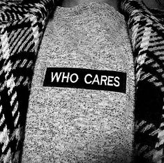 Pimp up your basic minimal every day sweater. Be different be creative be you! Sunday Funday whatever! I dont care so who cares? Chill and over and out. Who Cares, Sunday Funday, Zurich, Slow Fashion, Minimalism, Streetwear, Chill, Sweater, Words