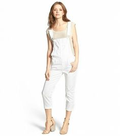Paige Denim Sierra Crop Slim Overalls