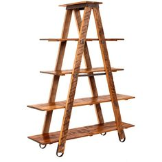 See this and similar Charleston Forge display units - Climb the design ladder with Charleston Forge's Sawmill Ladder Display Etagere. This unique shelving unit...