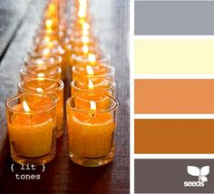The new colour scheme for my man's master bedroom. Dark grey walls with burnt orange accents