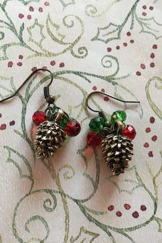 Holiday Jewelry Christmas Jewelry Holiday Earrings