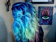 10 Colorful Hair Ideas to Express Yourself! 3 - https://www.facebook.com/different.solutions.page