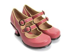 Check out the Fluevog Liz.  Rumor has it that it's a little darker pink.  Perfect.  The rumor was true...I own them.