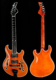 Languedoc G2 semi-hollow guitar. Trey Anastasio's (Phish) favorite squeeze.