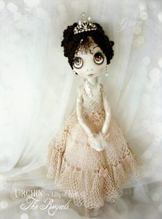 Urchin Art Doll by Vicki at Lilliput Loft ...The Royals - Grace