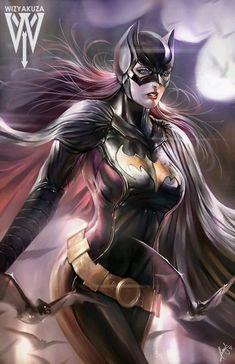 Redskull's Page | longlivethebat-universe:   Batgirl by Wizyakuza