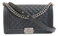 Chanel Boy Caviar Le Boy Cross Body Bag