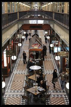 Adelaide Arcade, Adelaide, South Australia - My old stamping ground in the late fifties and sixties sez: MM (when I was 14yo I worked for Witchery clothing store which had a shop and a blouse bar in the middle. that was 1955! - I only lasted 6 weeks though)
