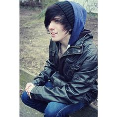 Emo Hairstyles for Trendy Guys Emo Guys Haircuts ❤ liked on Polyvore