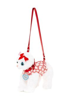 Candy Canes Cat Purse by Confetti on Cat Purse, Little Fashion, Candy Canes, Confetti, Nordstrom Rack, Purses, Christmas Ornaments, Holiday Decor, Cats