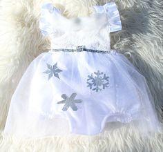 Miss Frost Winter Wonderland Sparkle Romper