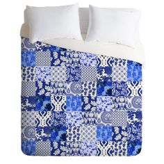 Aimee St Hill Blue Is Just A Mood Duvet Cover | DENY Designs Home Accessories
