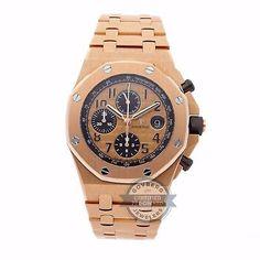 Audemars Piguet Royal Oak Offshore Auto Gold Mens Watch 26470OR.OO.1000OR.01