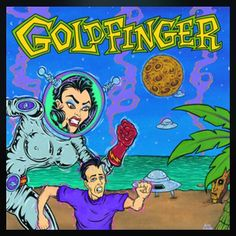 January 8th 2016! 366 albums of 2016, today I have Goldfinger's self titled album with the following Mable, Answers, and My Girlfriends Shower Sucks . #music #new&old #goldfinger #goldfingertheband  #albumproject #albumADay2016, one of my favourite albums.