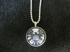 SHIELD Avengers Pendant by EpicButtons on Etsy, $12.00