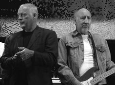 Pete Townshend & David Gilmour