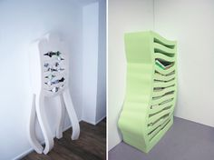 Soft Cabinet - Child Friendly - Interior Design - Quirky Furniture - Studio Dewi van de Klomp