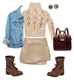 """""""Casual"""" by valeria-verde on Polyvore featuring Helmut Lang, MM6 Maison Margiela, Steve Madden, Mulberry, women's clothing, women's fashion, women, female, woman and misses Fashion Women, Women's Fashion, Helmut Lang, Steve Madden, Women's Clothing, Shoe Bag, Clothes For Women, Woman, Female"""