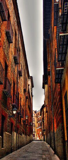 Calle cordón, Madrid, España
