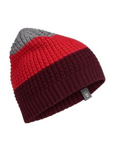 Oasis Beanie   Featuring a super-comfortable waffle knit that�s a reliable staple of winter warmth, the Oasis Beanie is made from a soft, breathable merino wool blend. The striped, multi-color design adds a dose of style whether you�re getting after it on the mountain or just trekking around the city.