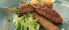 Turks gehaktgerecht heerlijk bij auberginesalade(zie aldaar) met rijst en…