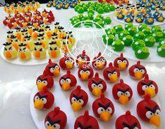 CHEIRINHO DE COISA BOA - Bolos decorados em Campinas SP: Docinhos Modelados Angry Birds