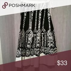 RAAKHEE skirt size Medium New with tags skirt with silver sequins size medium absolutely stunning skirt perfect for a statement RAAKHEE  Skirts