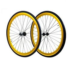 The Wheelset will elevate the performance of any bicycle riding on these bad boys to uncharted territories. Both front and rear come equipped with loose ball bearing hubs and black spokes. The rear hub come equipped with a Fixed cog and freewheel. Fixed Gear Bicycle, Bicycle Parts, Cycling Tips, Road Cycling, Bicycle Women, Bicycle Accessories, Kayaking, Canoeing, Outdoor Camping