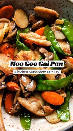 Best Chicken Recipes, Asian Recipes, Gluten Free Recipes, Healthy Recipes, Clean Eating, Healthy Eating, Asian Cooking, Stir Fry, Carne