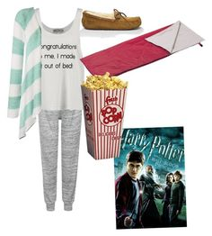 """""""Sleepover"""" by kit-kat-1987 ❤ liked on Polyvore featuring UGG Australia, Topshop, Wildfox, women's clothing, women's fashion, women, female, woman, misses and juniors"""