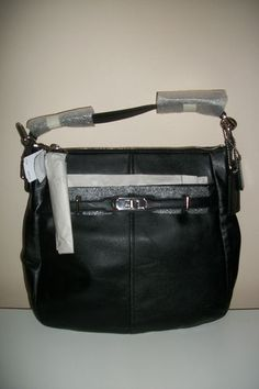 Beautiful Coach Retired Style Chelsea Black Leather Ashlyn Hobo in Black which is now sold out at Coach!  Five in stock and it is too heartbreaking that they are sitting in our eBay store when they are so gorgeous, they should be used instead of being safely stored.  If you know anyone who would love this style at a way below retail price, please share and help this listing go viral!  Thank you!