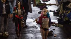 There have been a slew of recent photos from the Suicide Squad film that have been leaked recently. Description from toylab.blogspot.com. I searched for this on bing.com/images