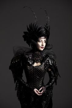 Steampunk costume gothic style