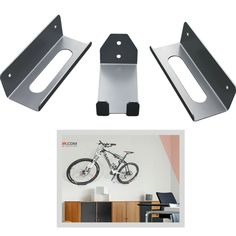 Relaxdays Pedal to Wall Bracket for Bike Bicycle Metal Wall Bracket Wall Mounted Holder for Hanging Up Bicycle Wall Storage, Red Bike Hanger Wall, Bicycle Hanger, Wall Mount Bike Rack, Bike Wall Storage, Outdoor Bike Storage, Garage Storage, Secure Storage, Bike Storage Solutions, Bike Pedals