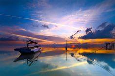 Sunrise at Nongsa, Batam Island - Indonesia