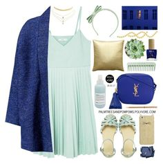 """""""Sundays"""" by palmtreesandpompoms ❤ liked on Polyvore featuring MANGO, RED Valentino, ASOS, Davines, Pillow Decor, Yves Saint Laurent, Surratt, ncLA, Kate Spade and Charlotte Russe"""