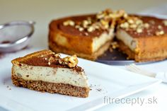 Dessert Recipes, Desserts, Stevia, Cheesecakes, Baked Goods, French Toast, Food And Drink, Birthday Cake, Vegan