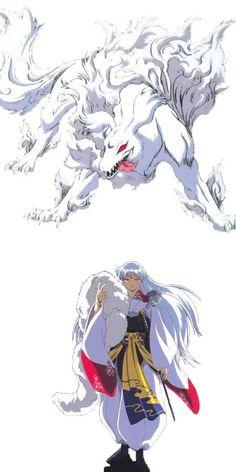 Sesshomaru's true form... And I still love him ♡