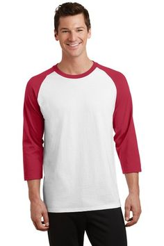 Red Hot Dog Raglan 3//4 Sleeve Shirt for Girls Boy