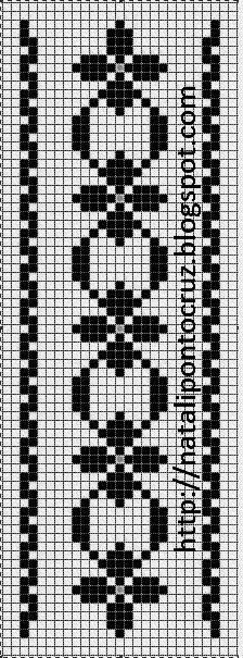 How to Crochet Wave Fan Edging Border Stitch - Crochet Ideas Cross Stitch Bookmarks, Cross Stitch Borders, Cross Stitch Alphabet, Cross Stitch Designs, Cross Stitching, Cross Stitch Embroidery, Cross Stitch Patterns, Filet Crochet, Crochet Chart