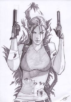 Lara Croft by Stjepan Sejic