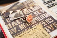 Rose Ring (Old Pink) de Explorium sur DaWanda.com