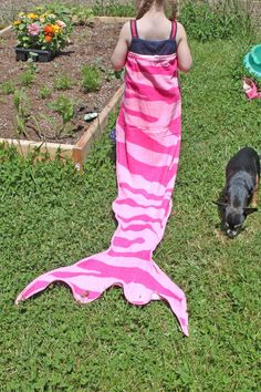 Mermaid Tail Towel Tutorial