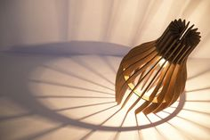 Stripes ❤→♥ Lamp by Made In Love Studio » Retail Design Blog