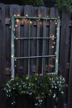 32 fun and inspiring old outdoor window decor ideas around your yard gla . 32 fun and inspiring old outdoor window decor ideas to make your yard shine # for home decoration with lavender flower potFront yard i. Solar Deck Lights, Deck Lighting, Lighting Ideas, Driveway Lighting, Patio String Lights, Backyard Lighting, House Lighting, Landscape Lighting, Strip Lighting