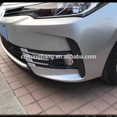 exterior Accessories New Car Accessories ABS front foglight cover- trims grille trims For Toyota For Corolla 2017