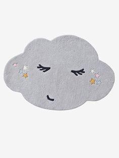 Wolkenteppich mit Gesicht - grau