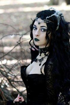 Dark #Gothic witch,